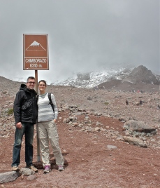 We made it to the first refugio at 4,850 meters above see level.
