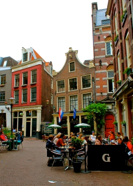 Classic Dutch architecture can be found on every corner, and admired from a plethora of street cafes.