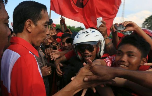 Presidential candidate, Jokowi, has been said to bring fresh air and new hope to Indonesian presidential politics (Photo: Times Live)